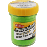 Glitter trout bait spring green