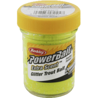 Glitter trout bait sunshine yellow