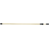 Solo telescopic spray wand, brass  57 – 100 cm