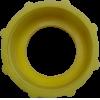 Adapter geel DIN 61 met dichting
