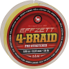 Effzett 4-braid geel 125m 0,10mm